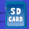 Wi-Fi SDカード