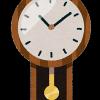 自動点灯する掛時計 KX260B